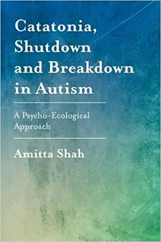 Catatonia, Shutdown and Breakdown in Autism - A Psycho-Ecological Approach
