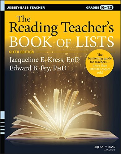The Reading Teacher's Book of Lists (6th ed.)