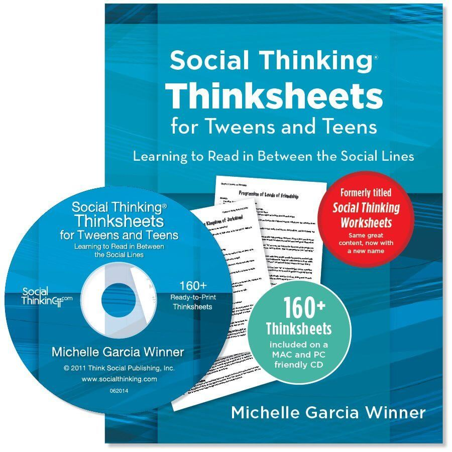worksheet Social Thinking Worksheets social thinksheets for tweens and teens learning to read in between the social