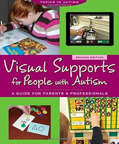 Visual support for people with autism