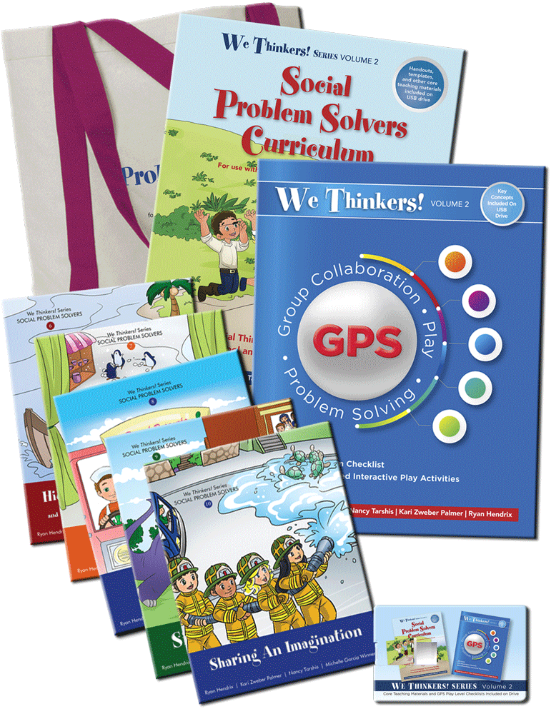 Book We Thinkers! Volume 2 Social Problem Solvers