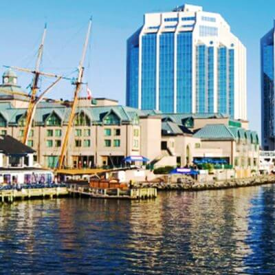 halifax AACI conference, pier