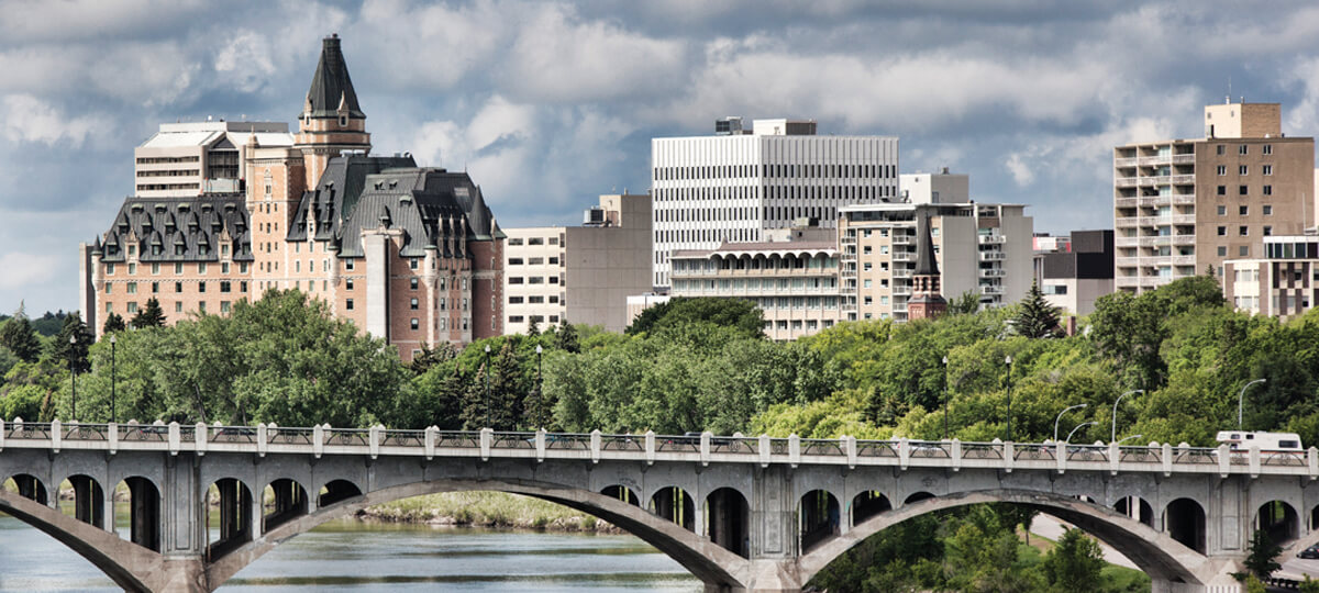 saskatoon AACI conference, downtown buildings