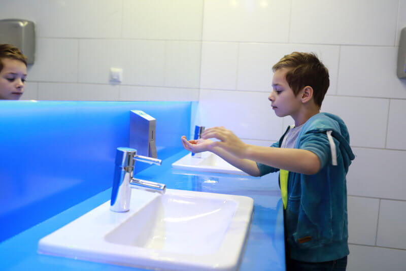 How to cope with disruptions for a child with autism during Covid-19, and hand washing tips