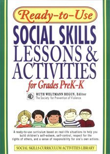 Ready to Use Social Skills Lessons and Activities for Grades Pre-K to K