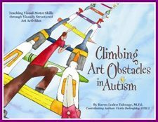 Climbing Art Obstacles in Autism
