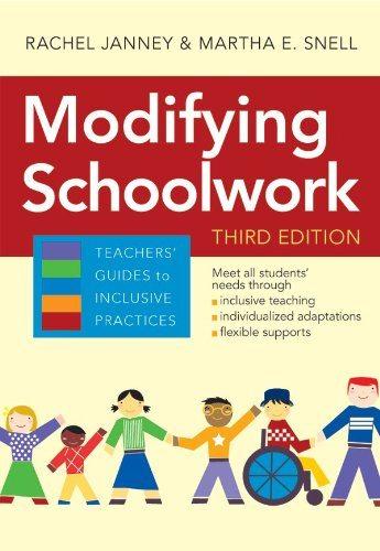 Modifying Schoolwork - Third Edition