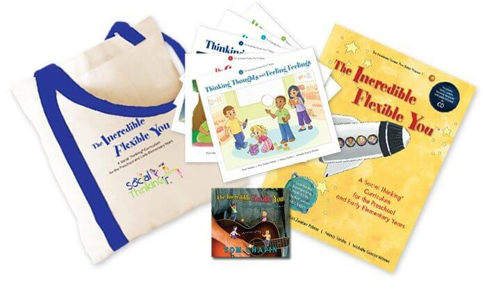The Incredible Flexible You™ Curriculum Set, Volume 1 with Music CD